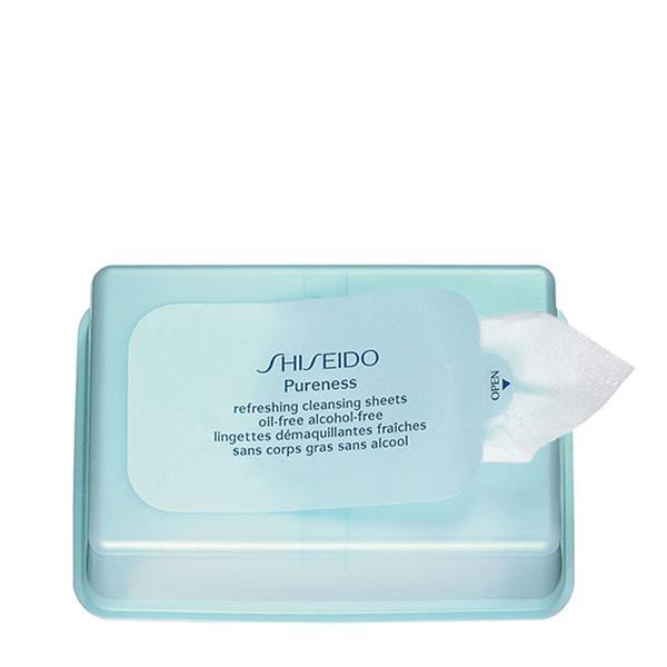 shiseido cleansing sheets
