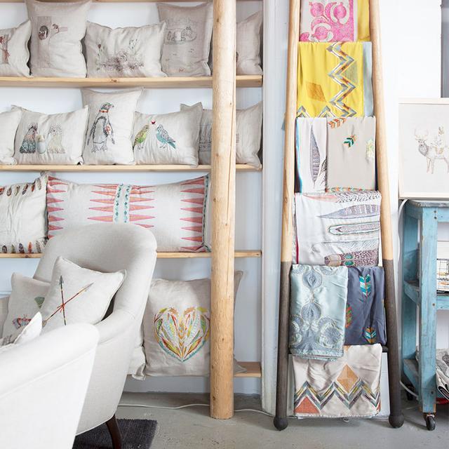 Tour a Textile Brand's Bohemian Brooklyn Studio Space