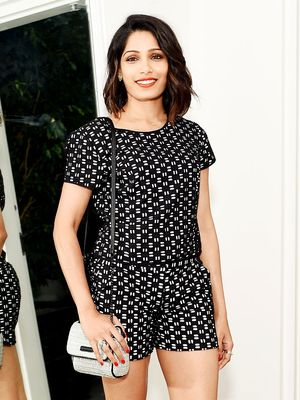 Get Frieda Pinto's Adorable Matching Set for Under $100