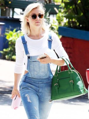 Julianne Hough Proves Overalls Are a Weekend Necessity