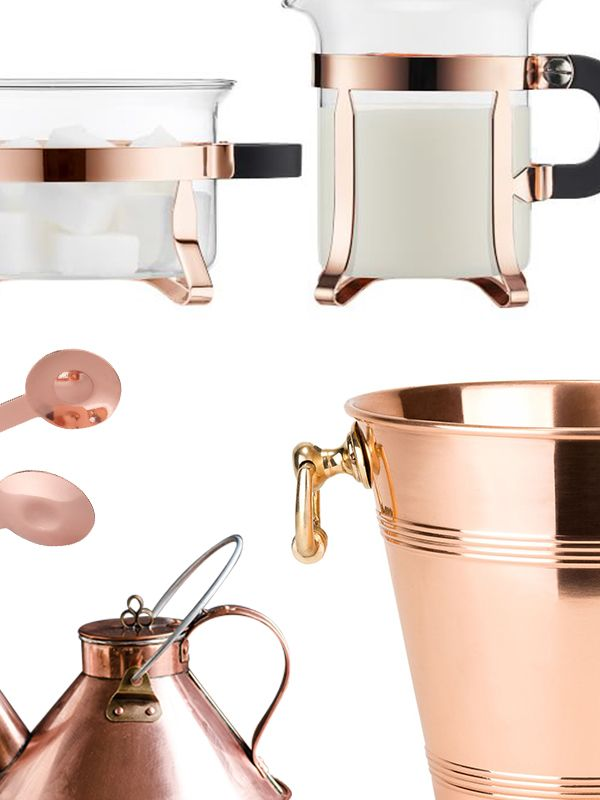 9 chic copper accents for your kitchen mydomaine au - Kitchen with copper accents ...