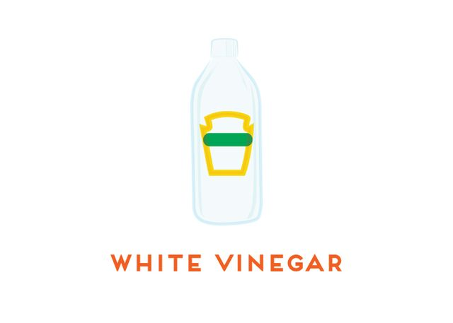 White vinegar is the unsung hero of kitchen cleaning. It does just about everything—cuts grease, zaps mildew, removes odors and stains, and disinfects. To wash floors, add 1/2 cup of white...