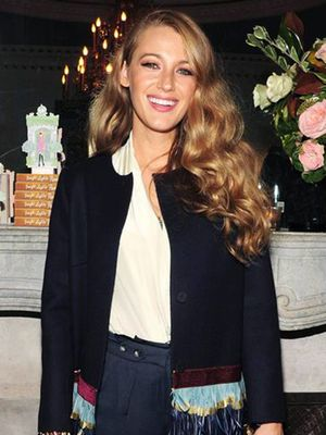 Blake Lively Just Wore the Ultimate Statement Coat