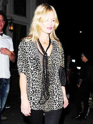 The Kate Moss–Approved Way to Wear Leopard Print