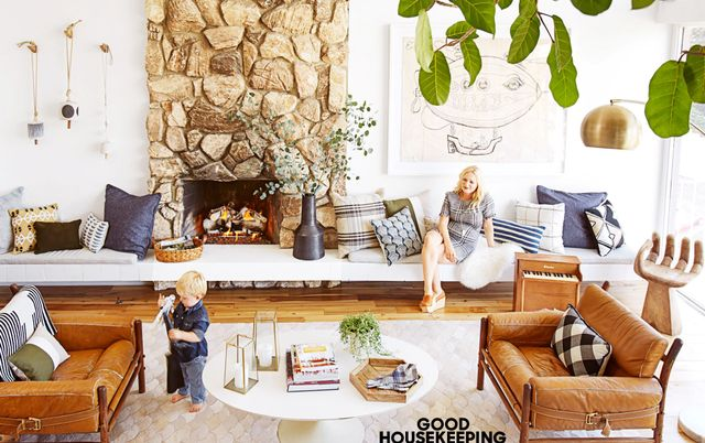 MYDOMAINE: What was your method for revamping your home for fall?  EMILY HENDERSON:I use my home as a laboratory, in a way—no client to worry about (except my husband) and no...
