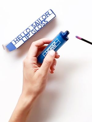Unboxed: A Blue Lip Gloss That Adjusts to Your Skin Tone