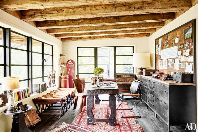 For the full tour, visit Architectural Digest.