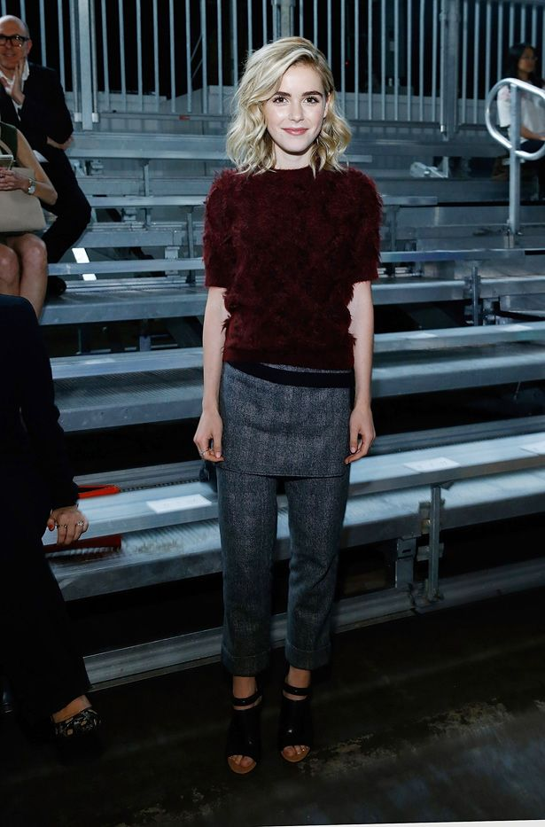 Celebrity Outfit Ideas Straight From New York Fashion Week