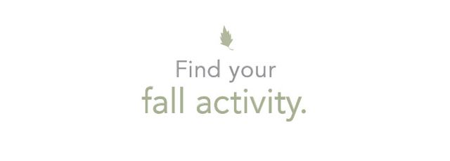 Summer is full of water sports—kayaking, paddleboarding, surfing, you name it. But as the temperature starts to drop, what is going to be your funactive outlet for fall? We recommend...