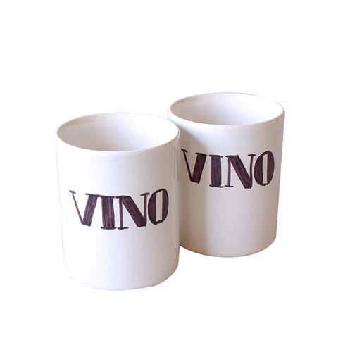 "Set of ""Vino"" Cups"
