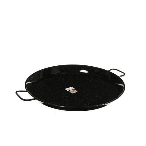 Enameled Steel Paella Pan, 26-Inch