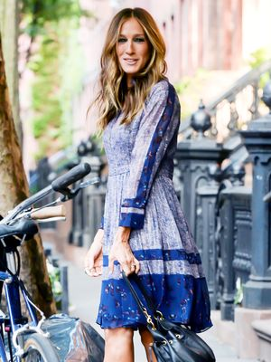 The Printed Frock Sarah Jessica Parker Loves