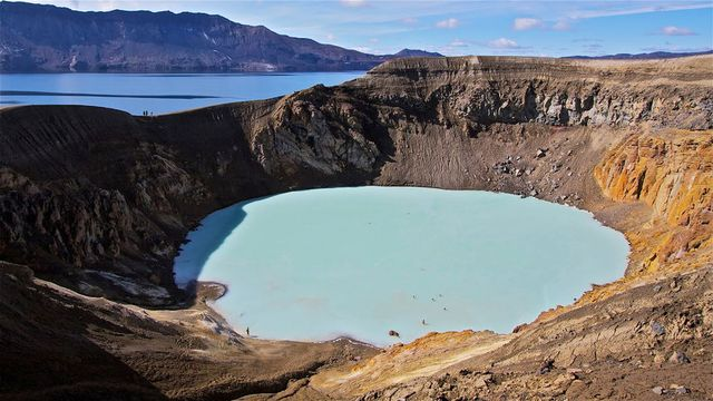 Víti Hot Spring, Iceland