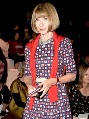 Anna Wintour Reveals What Caught Her Eye at New York Fashion Week