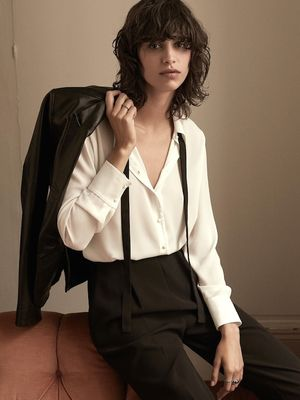 Shop Mango's Ultra-Chic Androgynous Fall Lookbook