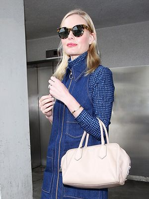 Kate Bosworth's Printed Shoes Are Absolutely Everything