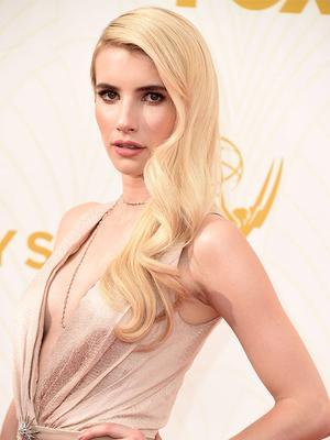 Watch Emma Roberts Teach Jimmy Fallon the Art of Mean-Mugging