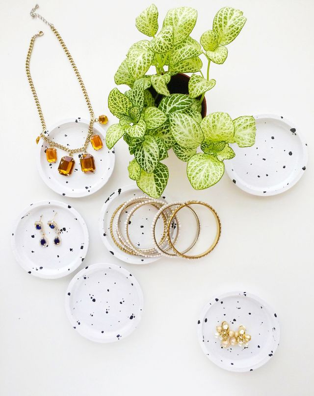 Speckled Jewelry Dishes