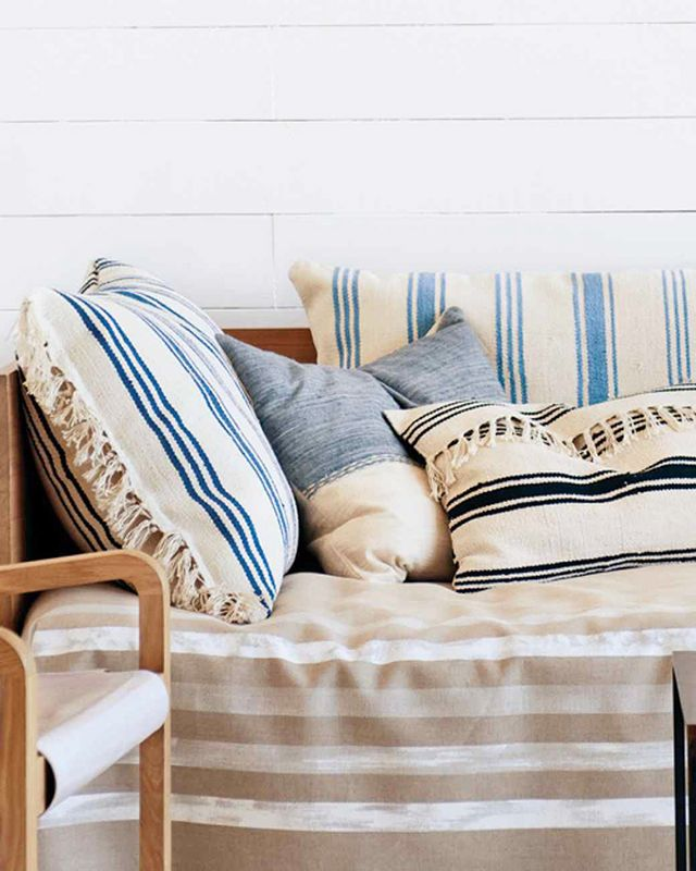 Nautical Rug Pillows