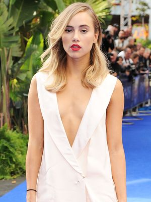 Suki Waterhouse Goes From Granny Chic to Majorly Glam