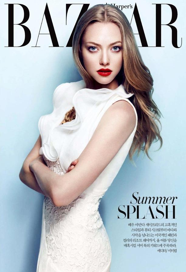 Amanda Seyfried | Harper's Bazaar Korea