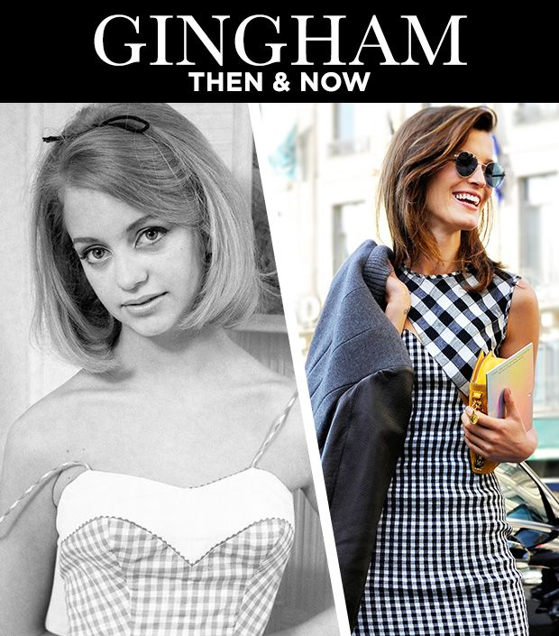Gingham Then & Now: The Classic Pattern Over The Years