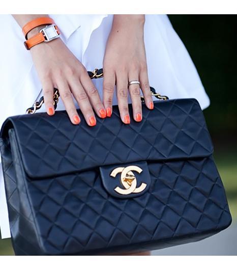 Nininguyen is wearing: Hermes watch, Chanel bag.  Get The Look: Rebecca MinkoffShoulder BagDiamond Quilt Mini Affair($195) in Black  See more ways to wear Chanel...