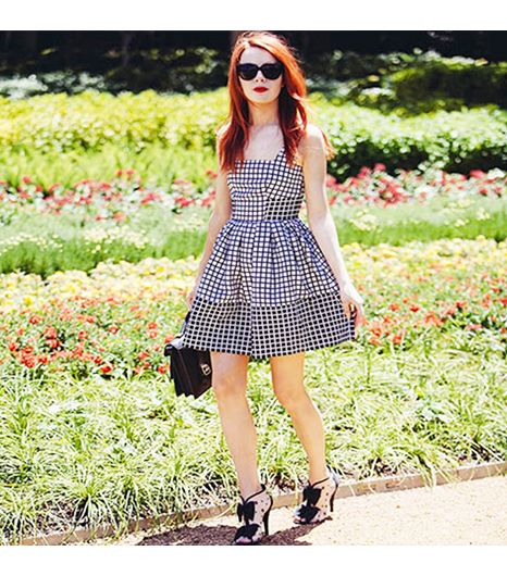 Seaofshoes is wearing: ASOS dress, Loeffler Randall bag.Posted byLoefflerrandall.  Get The Look: Sole Society Britt Messenger Bag ($130) in Black  See more ways to...