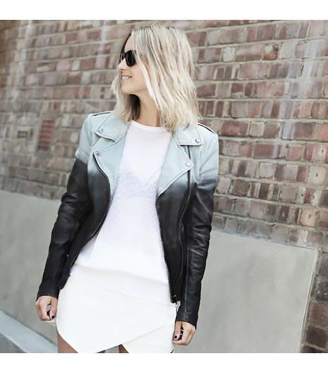 Thefashionguitar is wearing: Zara skirt, Zara sweater, Muu Baa jacket, Ray-Ban sunglasses.  Get The Look: Ray-Ban Aviator Sunglasses ($145)  See more ways to wear Ray-Ban...