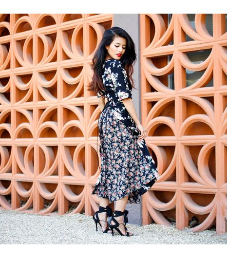 Lusttforlife is wearing: vintage dress, Gucci heels. 