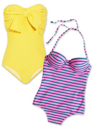 12 One-Piece Swimsuits For Instant Pinup Girl Status