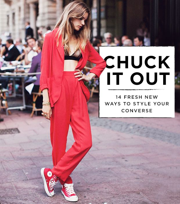 14 New Ways To Wear Your Old Converse Sneakers
