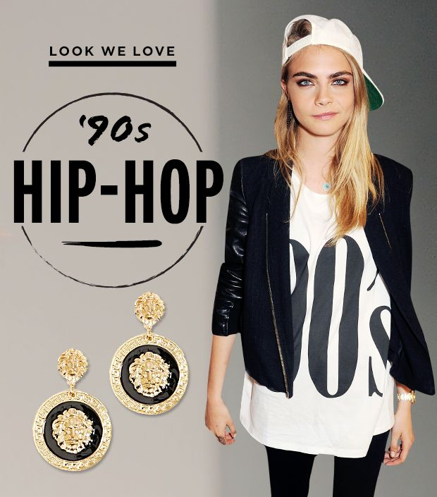 What You Need to Get Cara Delevingne's '90s Fly Girl Look