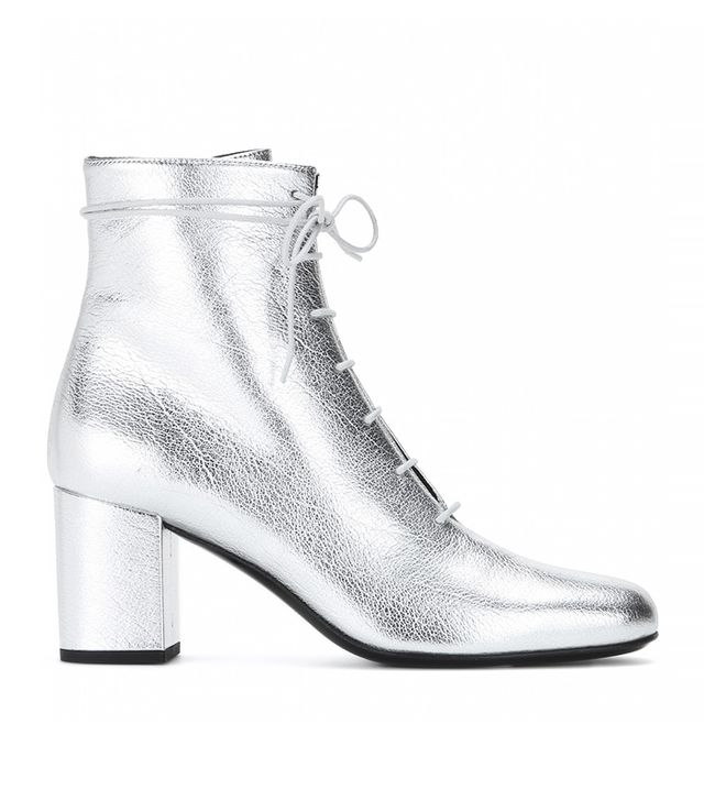 12 Pairs of Metallic Ankle Boots You Can Actually Wear IRL ...