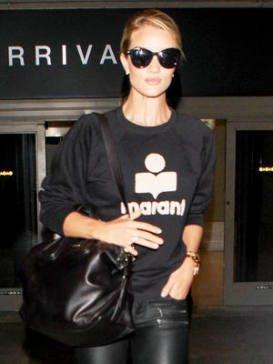 Rosie Huntington-Whiteley Achieves Elevated Casual Style