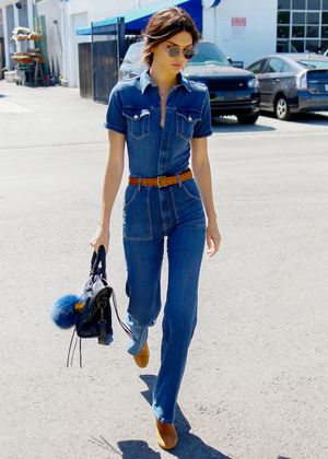 Shop the Denim Jumpsuit Models Love (and We're Obsessed With)