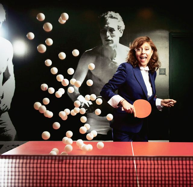 Susan Sarandon | Spin Ping-Pong