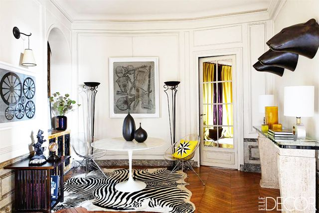 Layer the space with curiosities and unique objects.