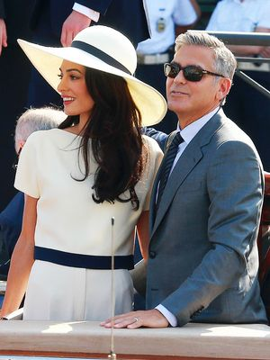 We Just Found the Cutest Photo of George and Amal EVER