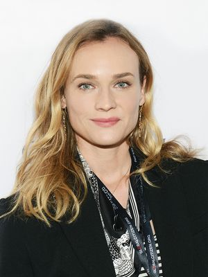 How Diane Kruger Pulled Off Fishnet Tights and Cutoff Shorts