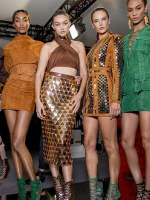 Watch the #BalmainArmy Strut Down the Runway