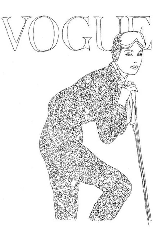 Vogue Wants You To Start Coloring Again Whowhatwear