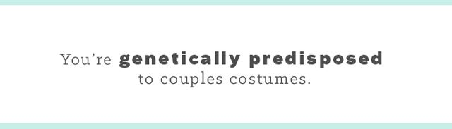 As a twin, Halloween is your personal playground. It is the one day a year you can dress alike and not feel like a creep. To date, my favorite was our Pebbles and Bamm-Bamm pairing. What's...