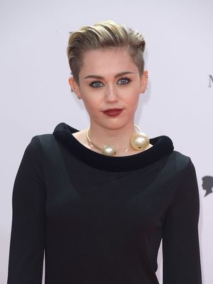 Miley Cyrus Went Brunette for SNL; See the Photo!