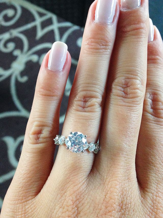 7 Real Girls With the Prettiest Engagement Rings