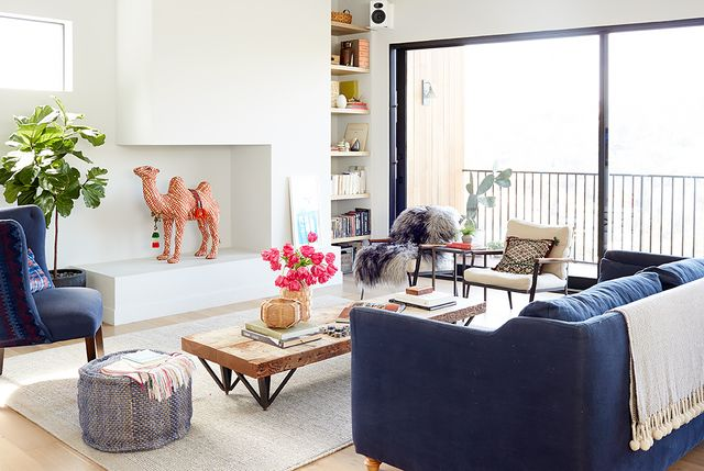 California-Cool Living Room by Project M Plus