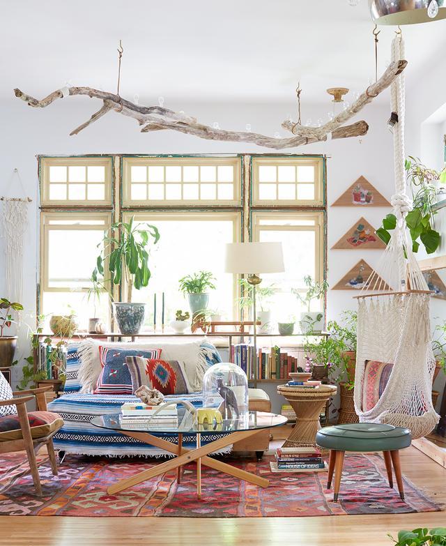 Bright Bohemian Lounge by Emily Katz