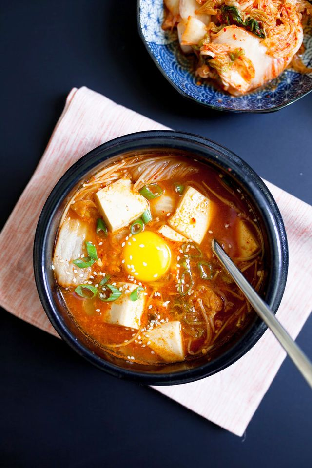 Korean Tofu Soup