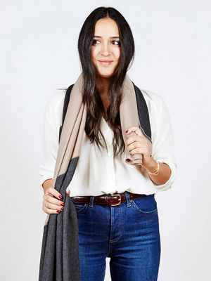 The Coolest Ways to Wear Your Scarf This Fall—See the GIFs!