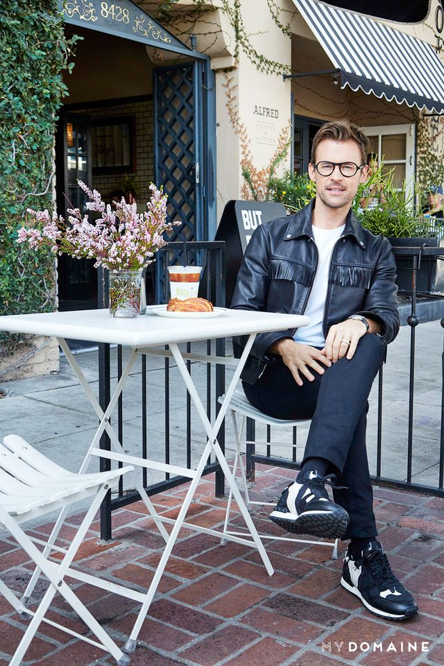 MYDOMAINE: Los Angeles has so many great coffee shops: Why Alfred's? BRAD GORESKI: First of all, the coffee is so good; it's strong but not bitter, and I need a lot of energy. But...